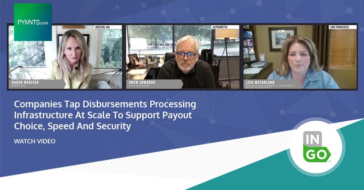 Tap Disbursements Processing Infrastructure