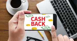 Getting Cash Back on Mobile Device