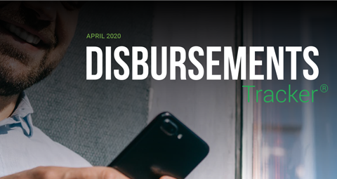PYMNTS.com Disbursement Tracker April 2020 Cover Image