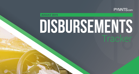 PYMNTS.com Disbursement Tracker August 2019 Cover Image