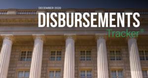 PYMNTS.com Disbursement Tracker December 2020 Cover Image
