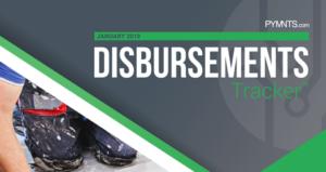 PYMNTS.com Disbursement Tracker January 2019 Cover Image