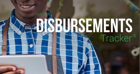 PYMNTS.com Disbursement Tracker July 2020 Cover Image