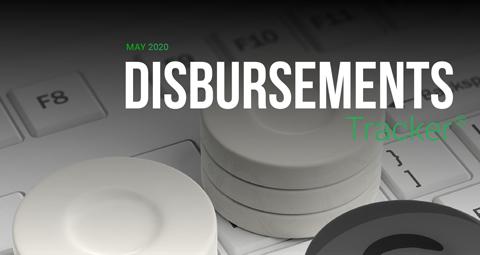 PYMNTS.com Disbursement Tracker May 2020 Cover Image