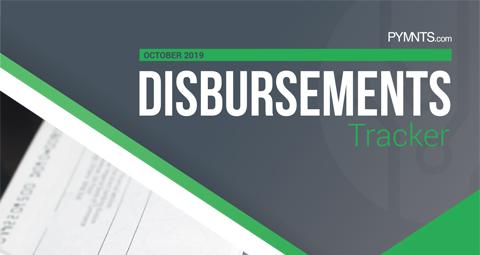 PYMNTS.com Disbursement Tracker October 2019 Cover Image