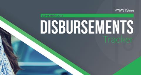 PYMNTS.com Disbursement Tracker September 2019 Cover Image