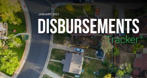 PYMNTS.com Disbursement Tracker January 2021 Cover Image