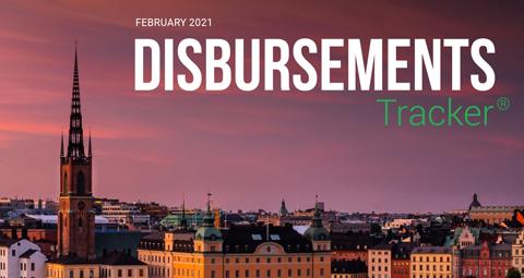 PYMNTS.com Disbursement Tracker February 2021 Cover Image
