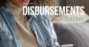 PYMNTS.com Disbursement Tracker March 2021 Cover Image