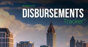 PYMNTS.com Disbursement Tracker October 2020 Cover Image