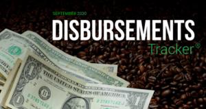 PYMNTS.com Disbursement Tracker September 2020 Cover Image